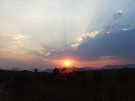 I miss the African sunset - african, sunset, miss, nature