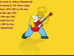 Homer Rocking Out