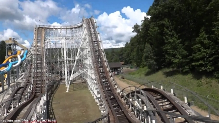 the comet - new, rollor, coaster, wooden, york