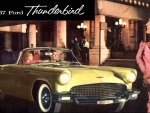 1957 Ford Thunderbird Cover ad
