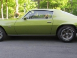 My First Car 1970 Green Camaro Z28