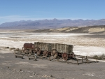 Borax Wagons in Death Valley