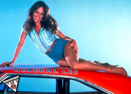 Catherine Bach For Marco_Ghostly - Blue Sky, Beauty, Actress, Smile, Hot, Charger