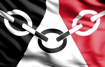 Black Country Flag - tipton, west midlands, birmingham, england, iron foundries, The Black Country Flag, museum, wwfc, locksmiths, dudley, wolverhampton, Industrial Revolution, history, wolves