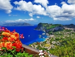 Beautiful Capri island