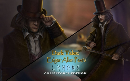 Dark Tales 11 - Edgar Allan Poes Lenore10 - cool, puzzle, hidden object, video games, fun