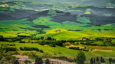 Italian rural scene - Italy, Forests, Trees, Fields, Rural
