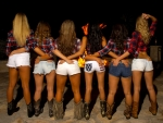 Cowgirl's Bonfire . .