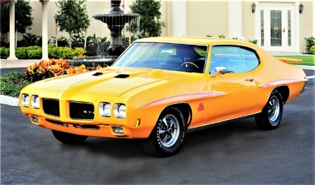1970 Pontiac GTO-JUDGE - 1970, Pontiac, GTO, JUDGE
