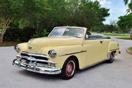 1950 Plymouth Special Deluxe Convertible - Special, Plymouth, Convertible, Old-Timer, Deluxe, Car