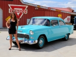 1955 Chevy 150 LS2 Tremec 6 Speed and Girl