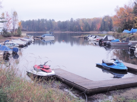 Boats At The Marina - Autumn, Boats, Photography, Marina, Lake