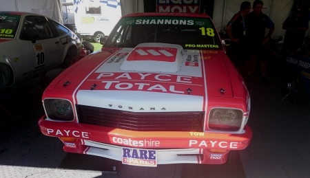 HOLDEN TORANA SLR 5000 - TORANA, RACE, HOLDEN, CAR