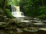 Sheldon Reynolds Waterfall, Pennsylvania