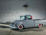 Old-School Cool 1958 Chevy Shortbed Fleetside