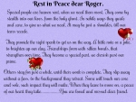 REST IN PEACE DEAR ROGER...''PUPPYDAWG''