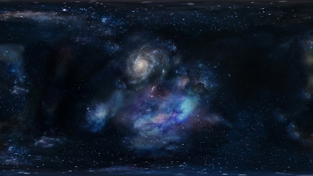 Galactic Space Stars and the Universe - Cosmos, Stars, Clouds, Galaxies, Space, Universe