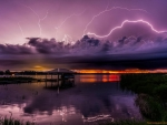 Purple Stormy Clouds