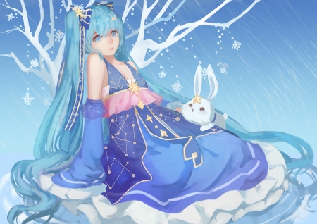 Vocaloid - girl, Vocaloid, art, anime