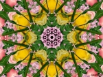 LILACS AND ROSES KALEIDOSCOPE