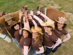 Cowgirl Tag Team . .