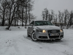 Audi A4 B7 S-line in snow