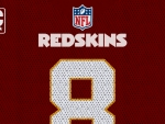 Redskins Number 8 Jersey Wallpaper