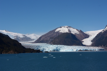 Amalia Glacier in Chile - Nature, Oceans, Glaciers, Ice