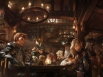 Elves playing poker