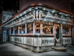 Empire Diner..New York