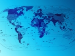 Pcologist-blue-world-map-on-a-blue-stream