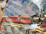 Puffing Billy - Train F