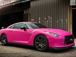 Hot Pink Nissan
