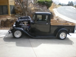 1933 Ford Pickup All Steel Streetrod