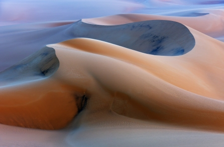 Beautiful Sandy Desert Dunes - Nature, Deserts, Sand, Dunes