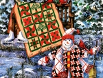 A Christmas Cheer Quilt F