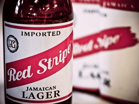 Red Stripe Beer - jamaica, beer, windows, jamaican lager, drinking, bottle, lager, red, druffix, red stripe beer, red stripe