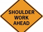 Shoulder Work Ahead