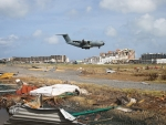 Rescue plane lands in St. Martin