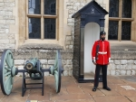 Tower of London Guardsman