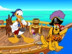 pirate donald duck
