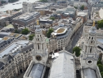 View from the top of St. Paul Cathedral, London