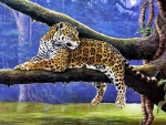Lovely Leopard Painting