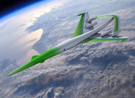 Concept Plane Supersonic Green Machine