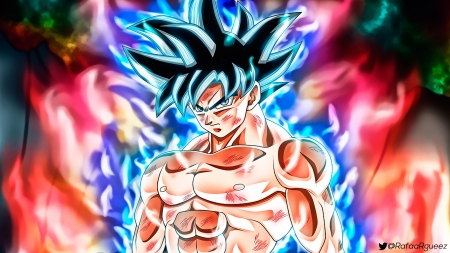 Goku limit breaker dragonball anime background - Dragon ball super background music mp3 download ...
