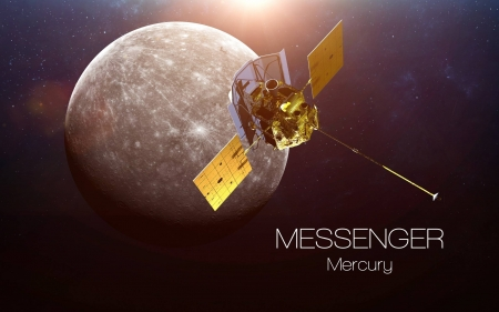 Messenger Mercury - space, cool, Mercury, Messenger, fun, planet
