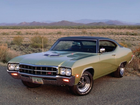 1969 Buick GS 400 - Myscle, Black Top, Classic, GM