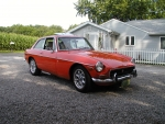 1972 MG MGB GT 2-Door Hatchback 3.4 V6 5-Speed