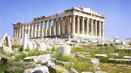 The Parthenon Athens - Ancient, Building, Parthenon, Greece, Athens