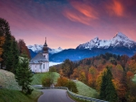 The Bavarian Alps,Germany